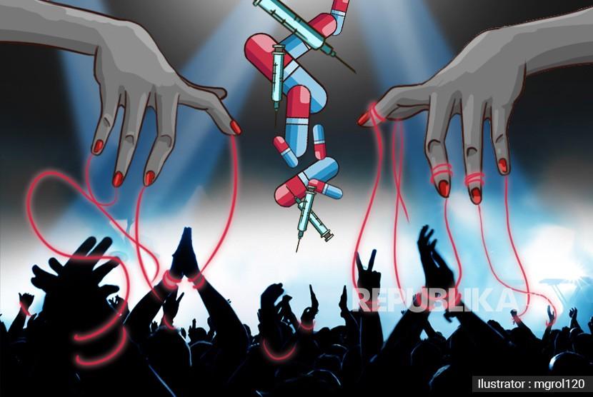 Gambar Ilustrasi Stop Narkoba Hukuman Untuk Bandar Dan Pemakai Narkoba Tak Bikin Jera