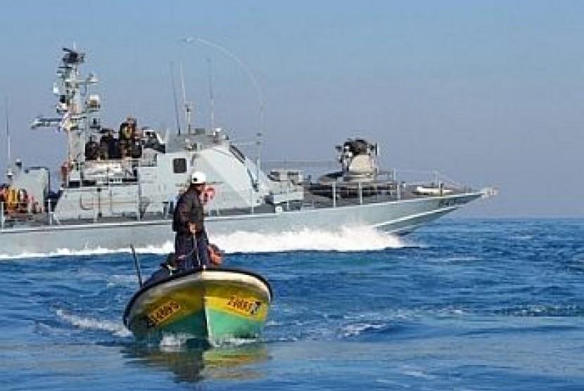 ilustrasi nelayan gaza