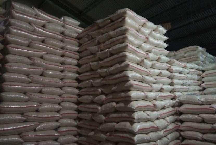 Ilustrasi pasokan beras