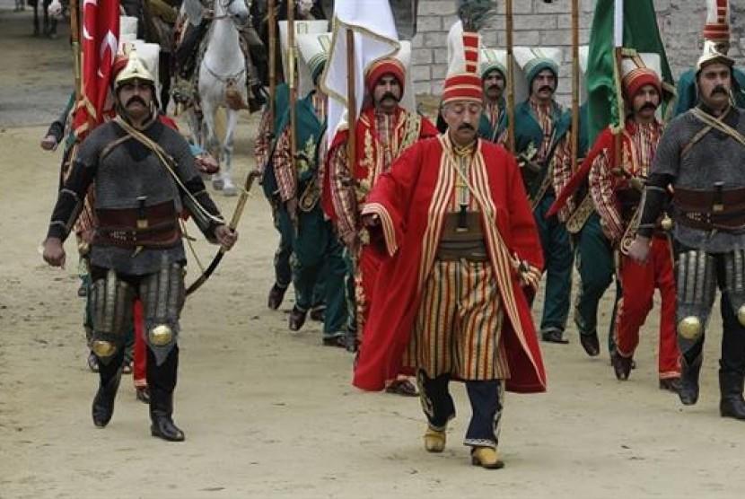 Ilustrasi - Pasukan Ottoman, Turki.
