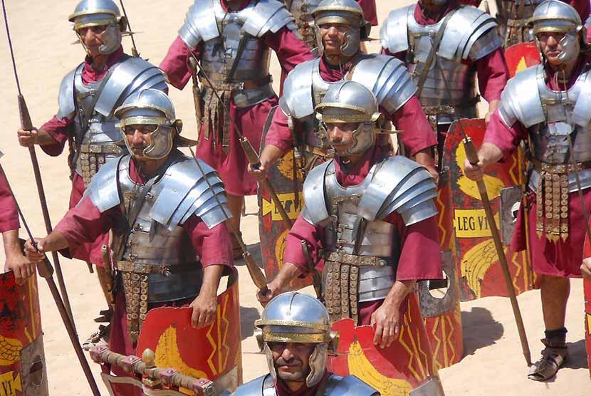 Ilustrasi pasukan Romawi