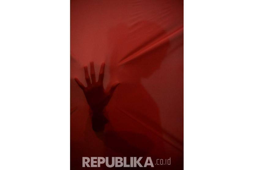 Korban pelecehan seksual (ilustrasi).