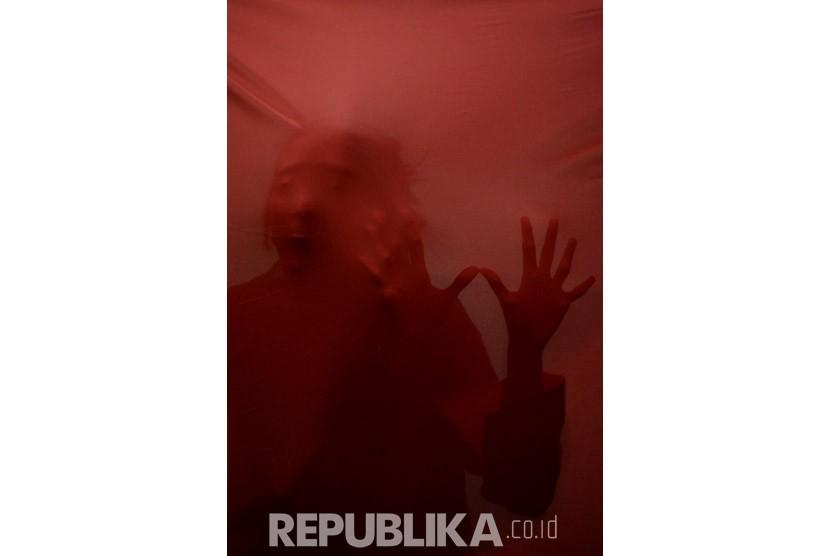 Oknum Dosen Unej Tersangka Kasus Pelecehan Seksual. Ilustrasi Pelecehan Seksual. (Republika/Prayogi)