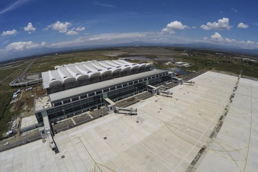 Ilustrasi pembangunan bandara.