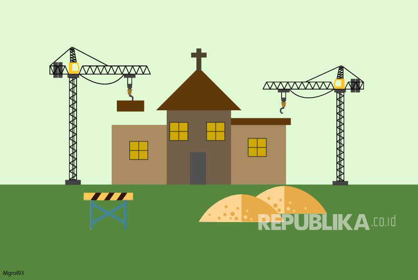 Ilustrasi Pembangunan Gereja