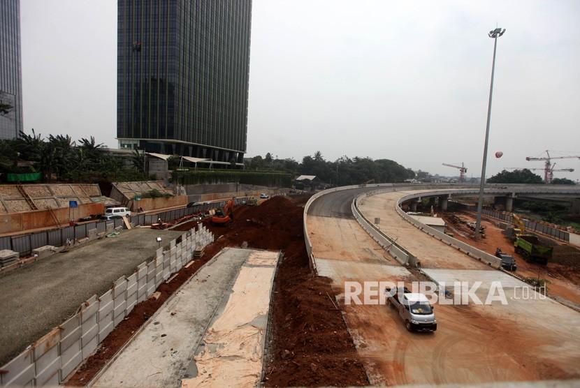 Ilustrasi Pembangunan Jalan Tol