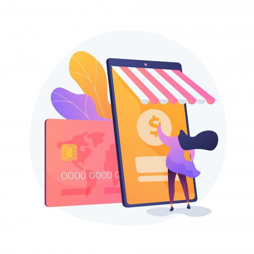 Kementerian Komunikasi dan Informatika (Kemenkominfo) membuka pelatihan untuk pelaku Usaha, Mikro, Kecil, dan Menengah (UMKM). Pelatihan UMKM ini untuk memberi pendampingan dan mempercepat fasilitasi ke 26 ribu pelaku UMKM masuk tahapan active selling di platform digital. (Ilustrasi pembayaran digital)