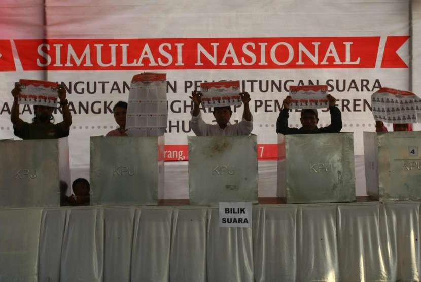 Ilustrasi pemilihan umum (Pemilu)
