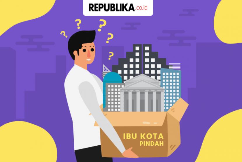 Ilustrasi Pemindahan Ibu Kota Negara
