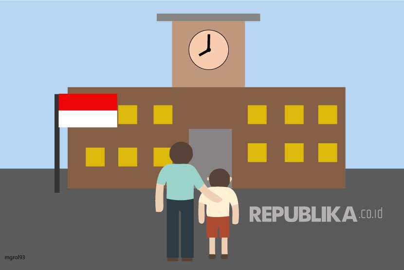 Ilustrasi Pendaftaran Sekolah