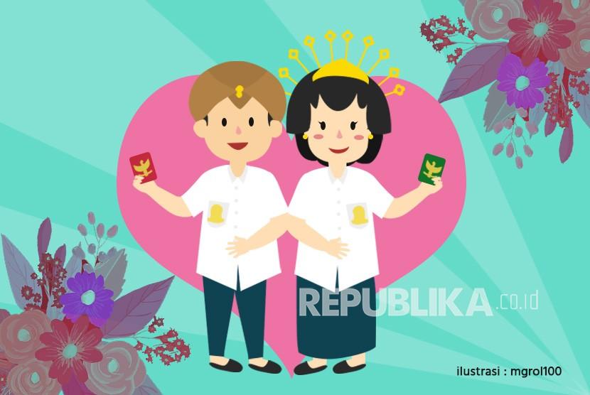 Perkawinan anak meningkat 300 persen selama pandemi Covid-19 (ilustrasi).