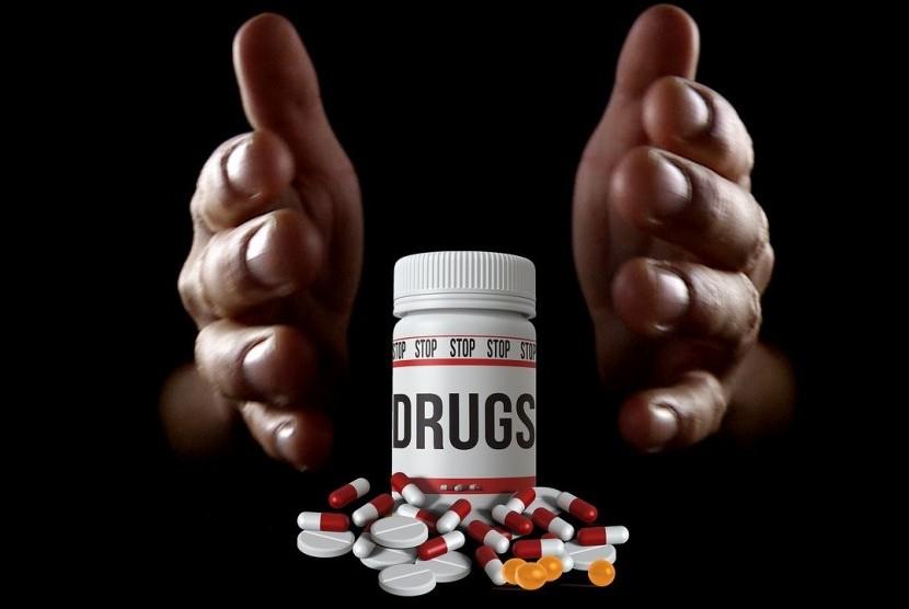 Arab Saudi Gagalkan Penyelundupan Narkoba. Foto: ilustrasi narkoba