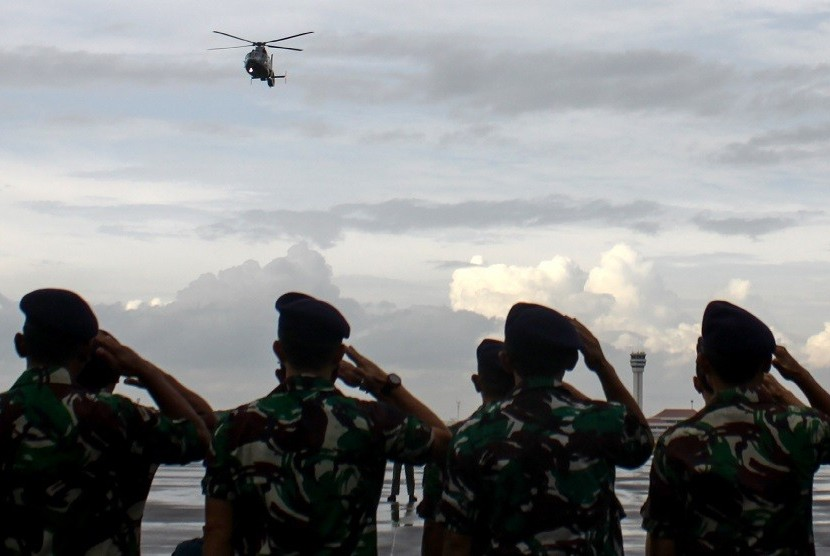 Ilustrasi prajurit TNI