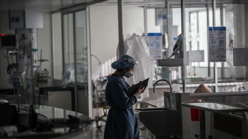 Ilustrasi: Ruang perawatan pasien Covid-19.