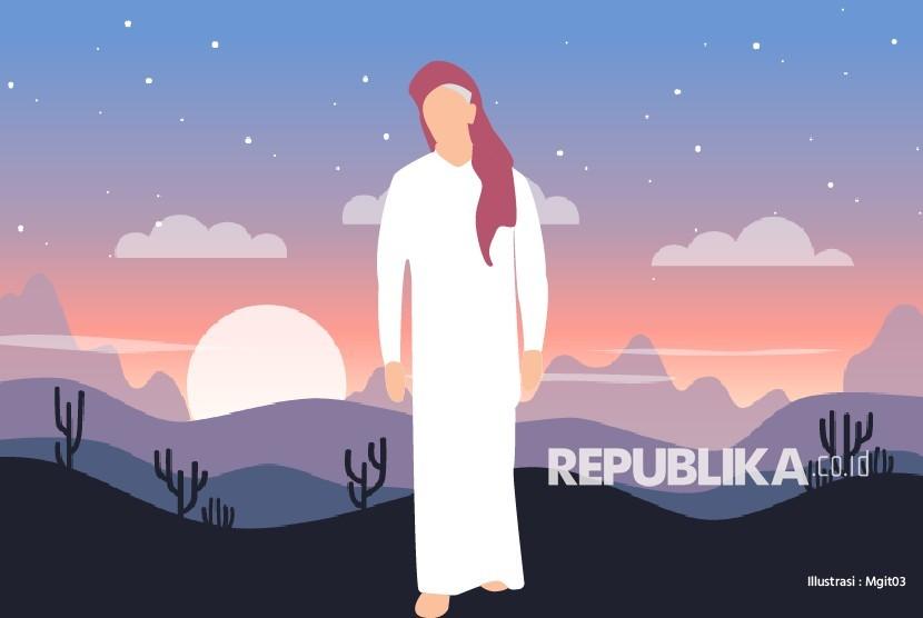 Gambar Animasi Anak Muslim Pergi Sholat Kisah Sahabat Nabi Yang Tergesa Sehabis Shalat Republika Online