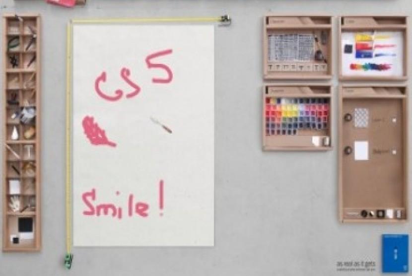 Ilustrasi /Snapshot video Adobe Photoshop CS5,