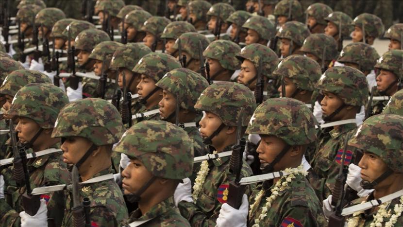 Ilustrasi: Tentara Myanmar.