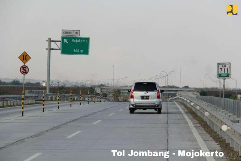 Ilustrasi Tol Jombang-Mojokerto