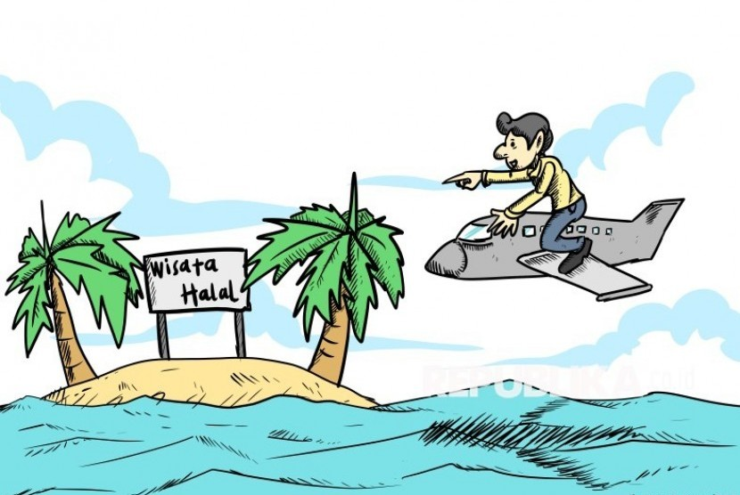 Ilustrasi Wisata Halal