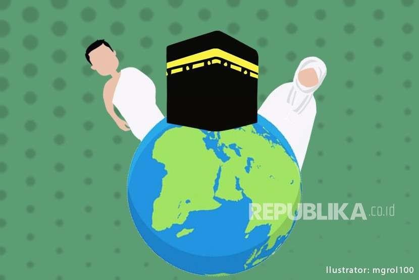 Ilustrasi Wisata Umrah