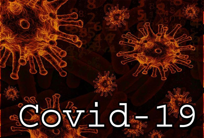 Ilustrasi Covid-19. Calon wakil gubernur Bengkulu Muslihan Diding Sutrisno meninggal dunia setelah terkonfirmasi terinfeksi positif Covid-19 pada Ahad (6/12).