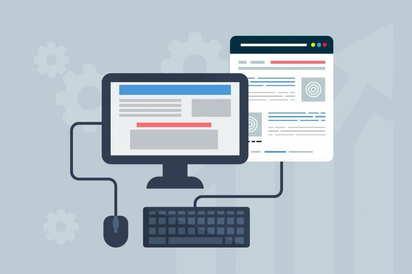 Sejumlah santri di Kabupaten Bandung mendapatkan pelatihan dasar pengenalan pembuatan website dan dunia digital. (fFoto ilustrasi website)
