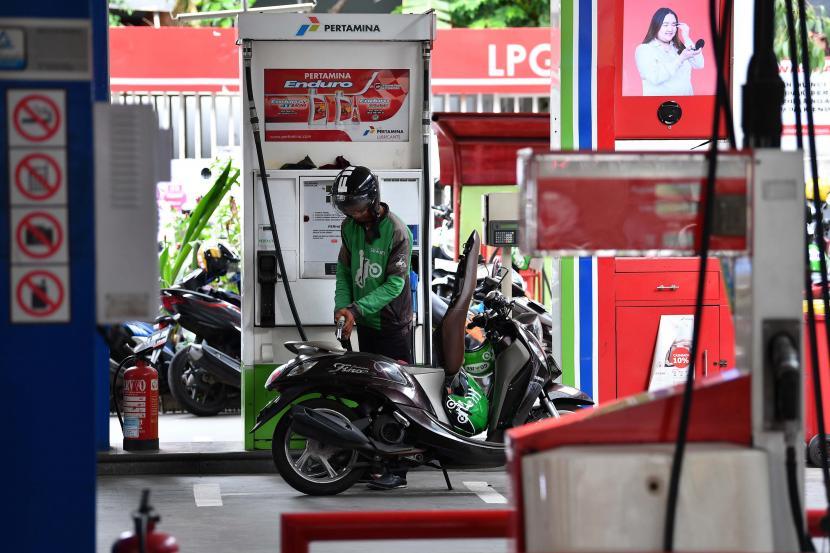 Permintaan BBM Sepanjang PPKM di Jatim Menurun (ilustrasi).