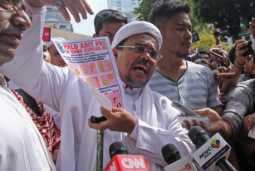 Habib Rizieq Asks The Govt To Withdraw All Of New Banknotes Republika Online