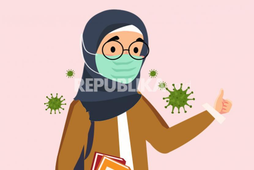 Mengapa Masker Wajib Dipakai Di Tengah Wabah Virus Corona Republika Online