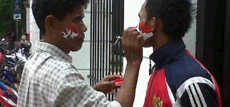 76 Gambar Lukisan Bendera Merah Putih Paling Keren