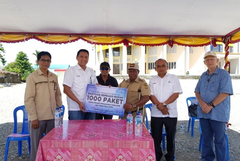 Inalum memberikan dana CSR untuk masyarakat Jayapura dan Timika.