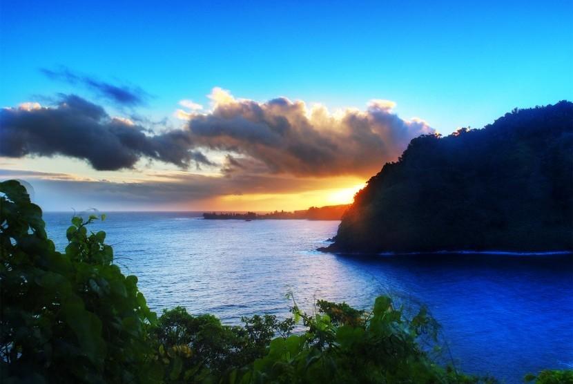 Indahnya alam di Maui, Hawaii