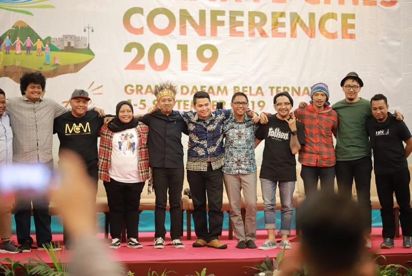 Indonesia Creative Cities Festival (ICCF) 2019 di Ternate, Maluku Utara, disambut dengan gembira dan dibuka dengan antusias.