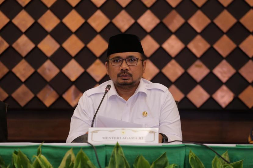 Indonesia Kembali Tidak Memberangkatkan Jemaah Haji. Foto: Menag Yaqut Cholil Qoumas