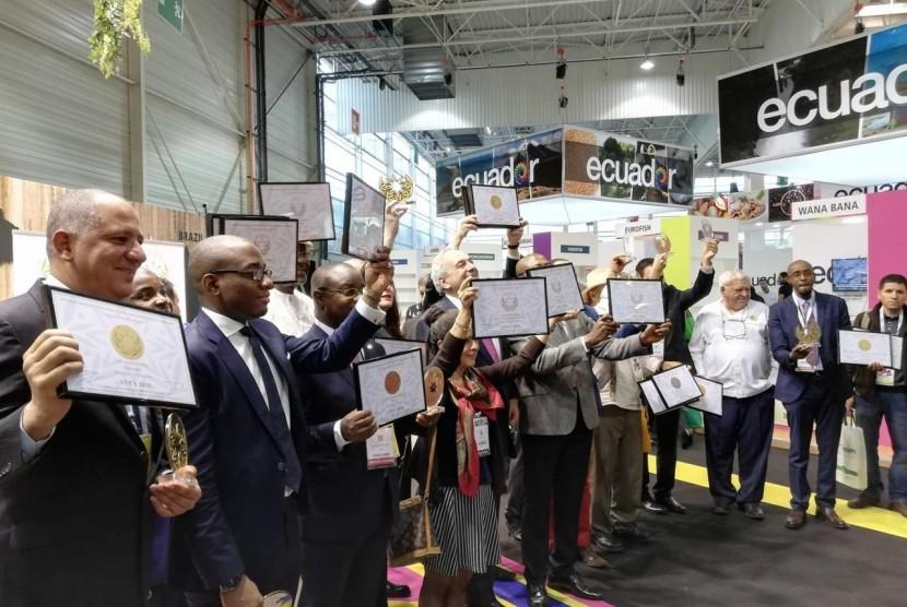 Indonesia raih penghargaan AVPA Gourment di Paris – Prancis, 2 Oktober 2018, trerkait pengolahan kopi