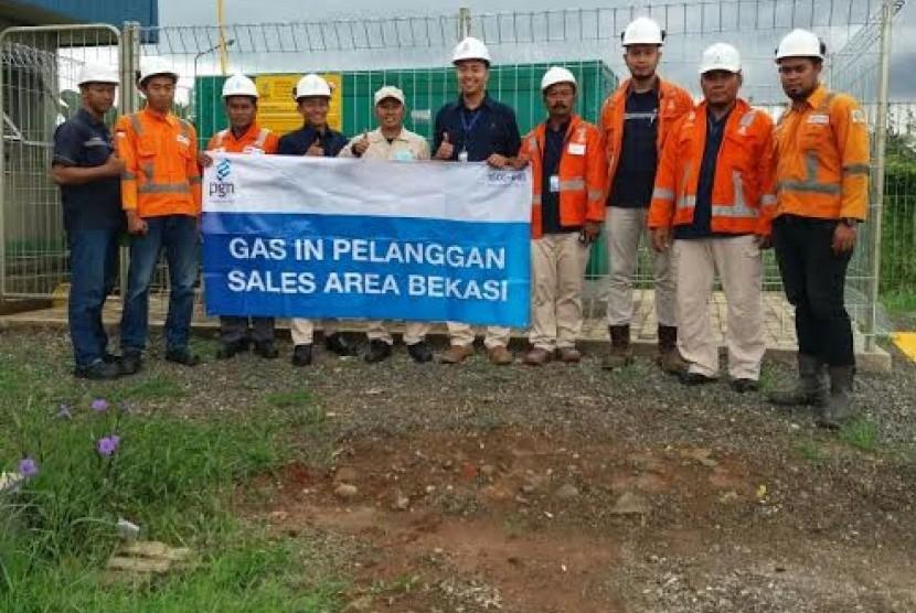 Industri di Subang dan Bekasi semakin banyak yang menggunakan gas bumi PGN.