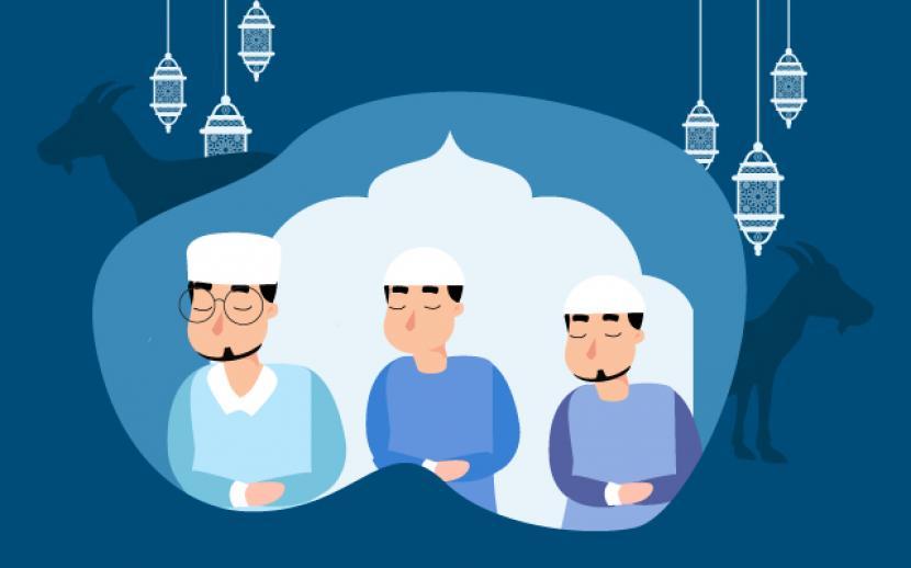 Cianjur Izinkan Pelaksanaan Sholat Idul Adha di Zona Aman (ilustrasi).