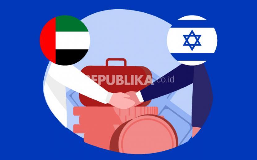 Israel dan Uni Emirat Arab (UEA) telah mencapai kesepakatan bilateral mengenai investasi, menurut Kementerian Keuangan dua negara, Ahad (18/10). Kesepakatan ini akan memberikan insentif dan perlindungan kepada investor yang akan berinvestasi di negara masing-masing.