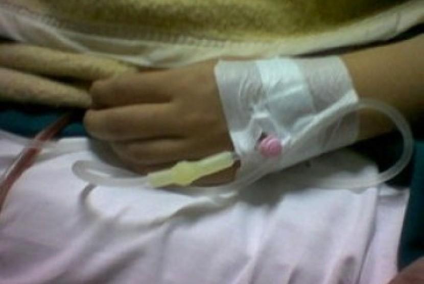 Balita Ditemukan Terlantar Dalam Keadaan Diinfus Di Jaksel Republika Online