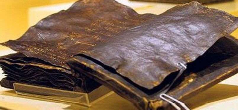 Injil kuno yang diyakini sebagi Injil Barnabas.
