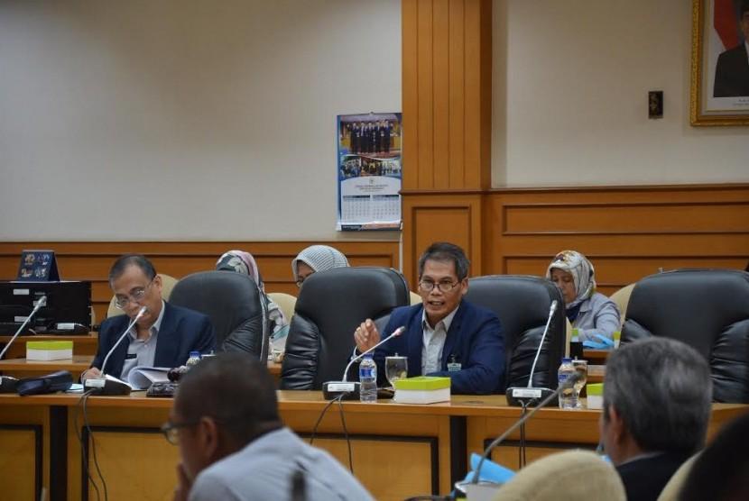 Inspektur Utama Sekretariat Jenderal DPR RI Setyanta Nugraha membuka acara Sosialisasi Peningkatan Penilaian Mandiri Pelaksanaan Reformasi Birokrasi (PMPRB) di lingkungan Setjen dan Badan Keahlian DPR RI.
