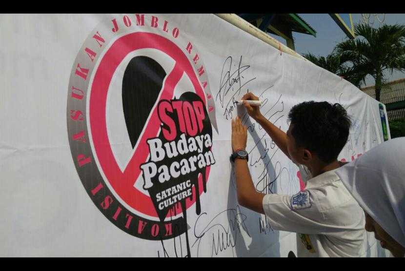 IPM Cibodas deklarasi tolak pacaran di sekolah