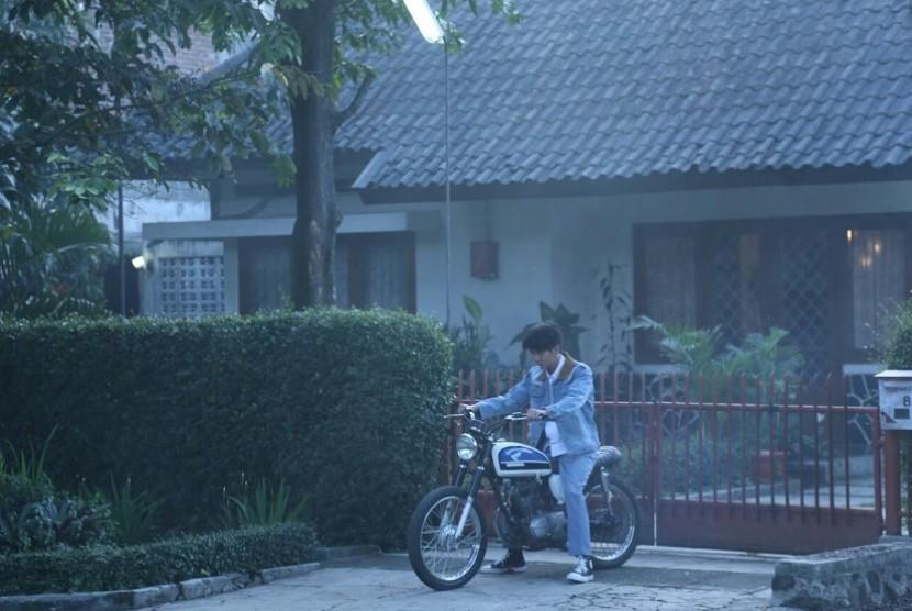 Iqbaal 'CJR' jalani hari pertama syuting film