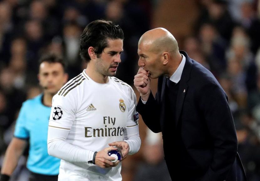 Isco Curhat Soal Zidane ke Marcelo dan Modric