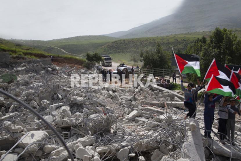 Israel Gusur Warga Palestina