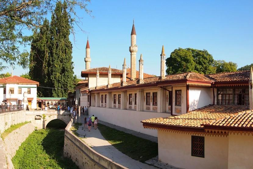 Istana Hansaray, Crimea.