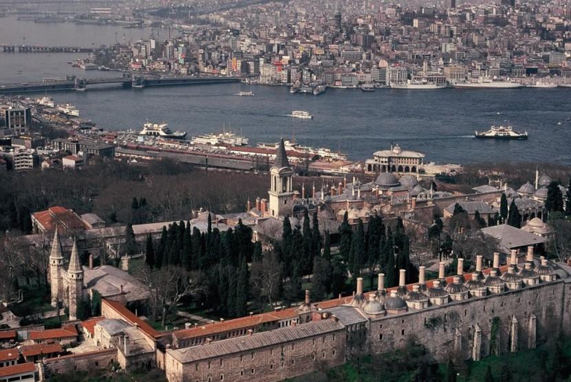 Istana Topkapi di Istanbul, Turki.