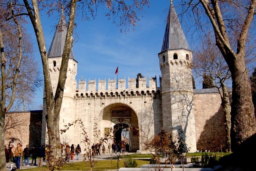 Istana Topkapi Istanbul, Turki.