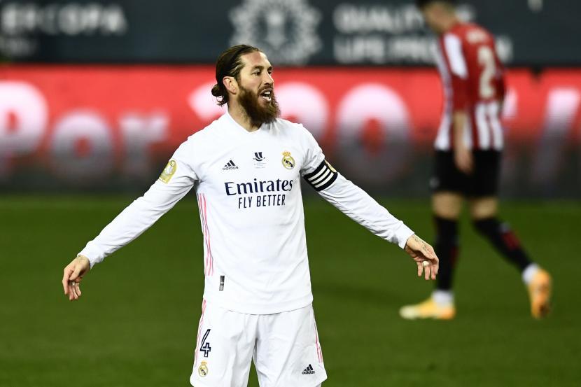 Sergio Ramos dari Real Madrid.