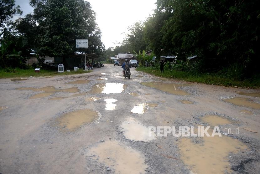 Jalan Rusak (Ilustrasi)